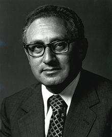 Former Secretary of State, Henry Kissinger