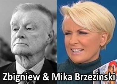 Zbigniew & Mika Brzezinski
