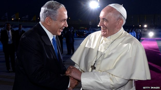 Israeli PM and Pope