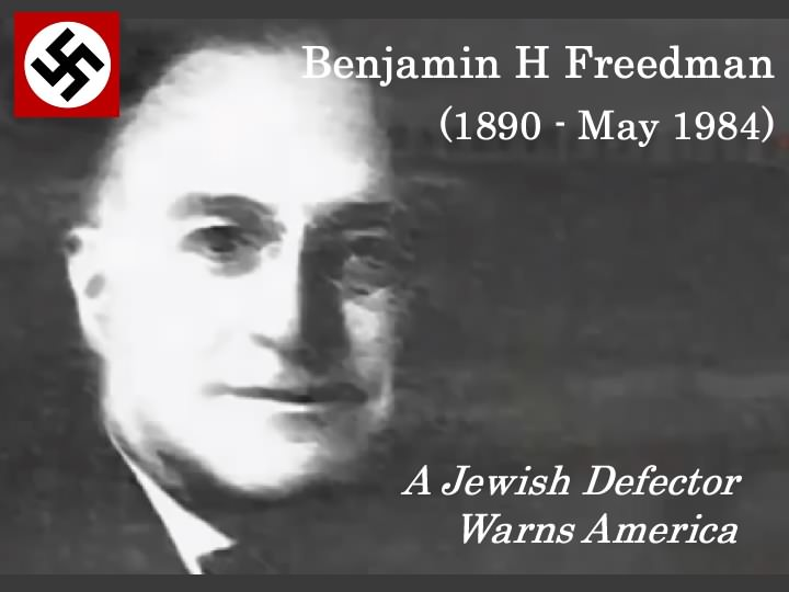 Benjamin H Freedman Speech