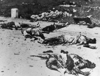 Inhuman Jewish terror agents of the Irgun ruthlessly slaughtered Arab women and babies, then mutilated their corpses in the Palestinian village of Deir Yassin.