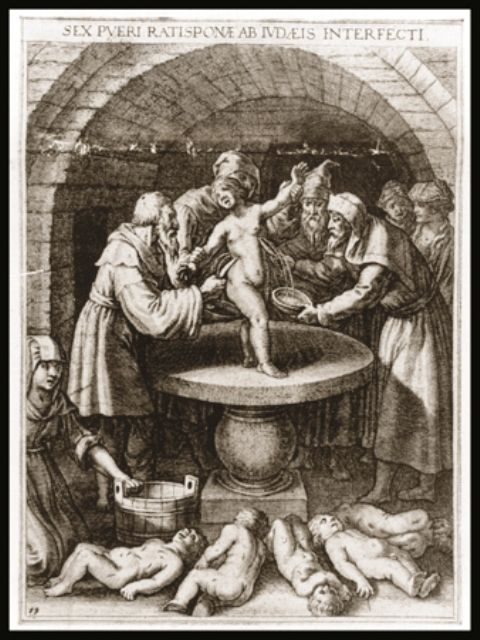 Der Stuermer, depicting a ritual murder