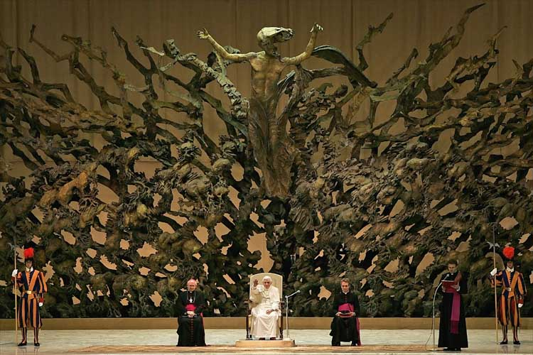"Why the ""Hell"" is this in the Vatican?"