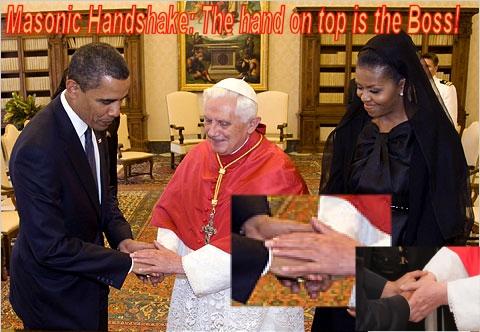 PopeObamnationHandShakeMasonic