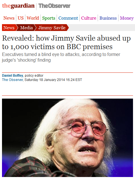 Jimmy Savile was a satanic jew.  All of the biggest pedophiles are and most of the lessor known ones are too.