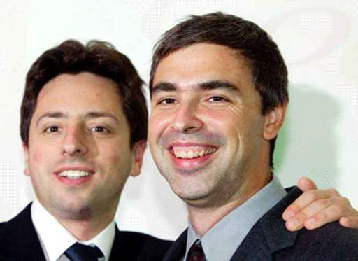 "Sergei Brin and Larry Page -""the Jewish boys from Google"""