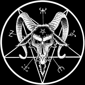 When pointing down, this is satanic, as the star of Baphomet or goat of mendes.