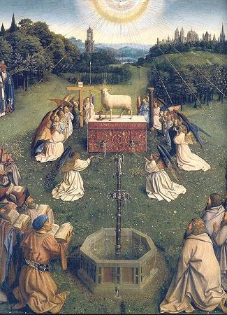 ghent_altarpiece_adoration_of_the_lamb
