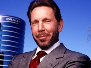 Larry Ellison, Jewish co-founder and CEO of Oracle Corporation