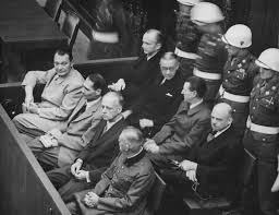 "Nuremberg – October 16, 1946 – After a Soviet-style show trial eleven high-ranking officials of defeated National Socialist Germany were hanged for their role in the ""crimes"" of the Third Reich."