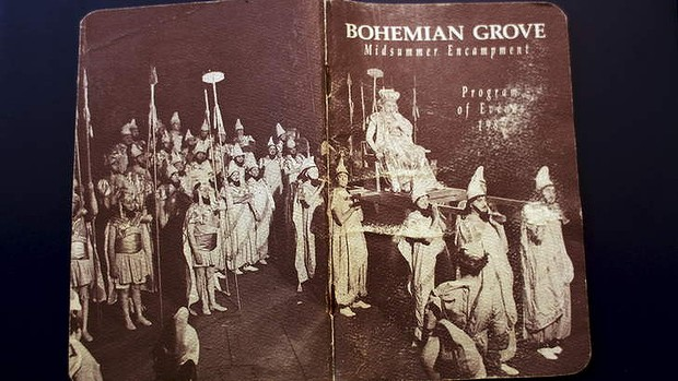 A Rare Bohemian Grove Program Guide