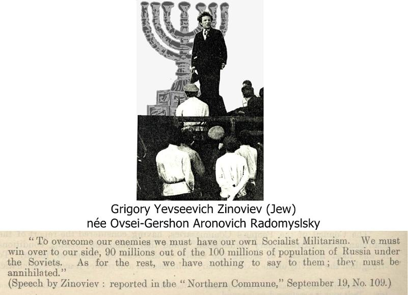 Jewish Communists plot genocide of Russians. They put out stories of Jewish persecution at this same time to hide their blood-curdling atrocities in Russia.