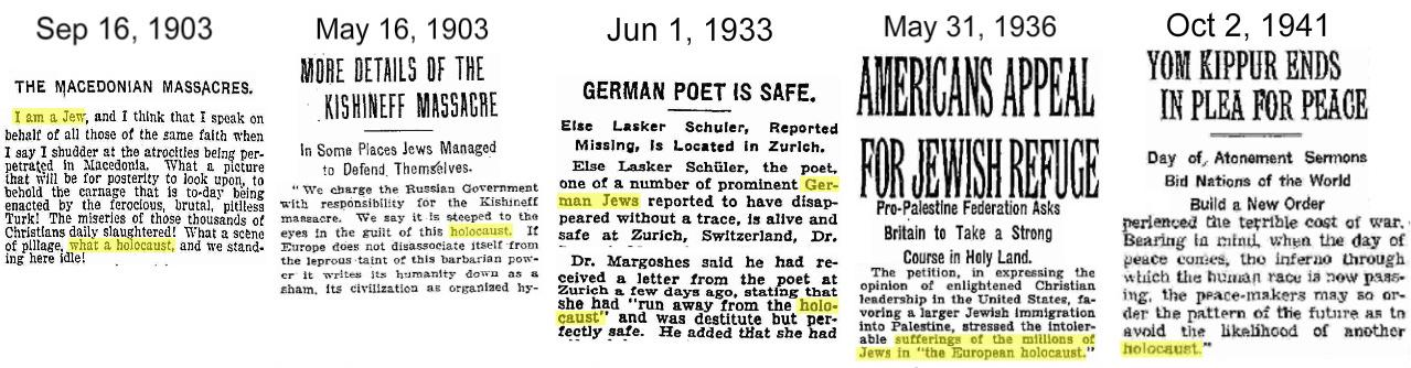 Holocaust-references