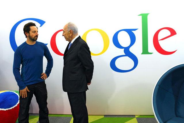 Sergey-Brin-Google-Shimon-Peres