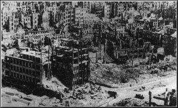 The firebombing of Dresden