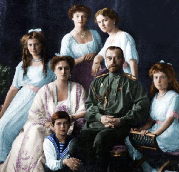 The last of the Romanovs, Tsar Nicholas II and his family